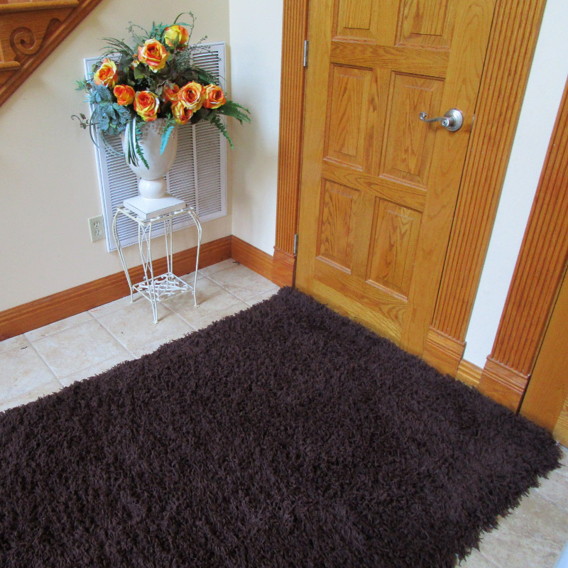 Coco Brown Shag Rugs