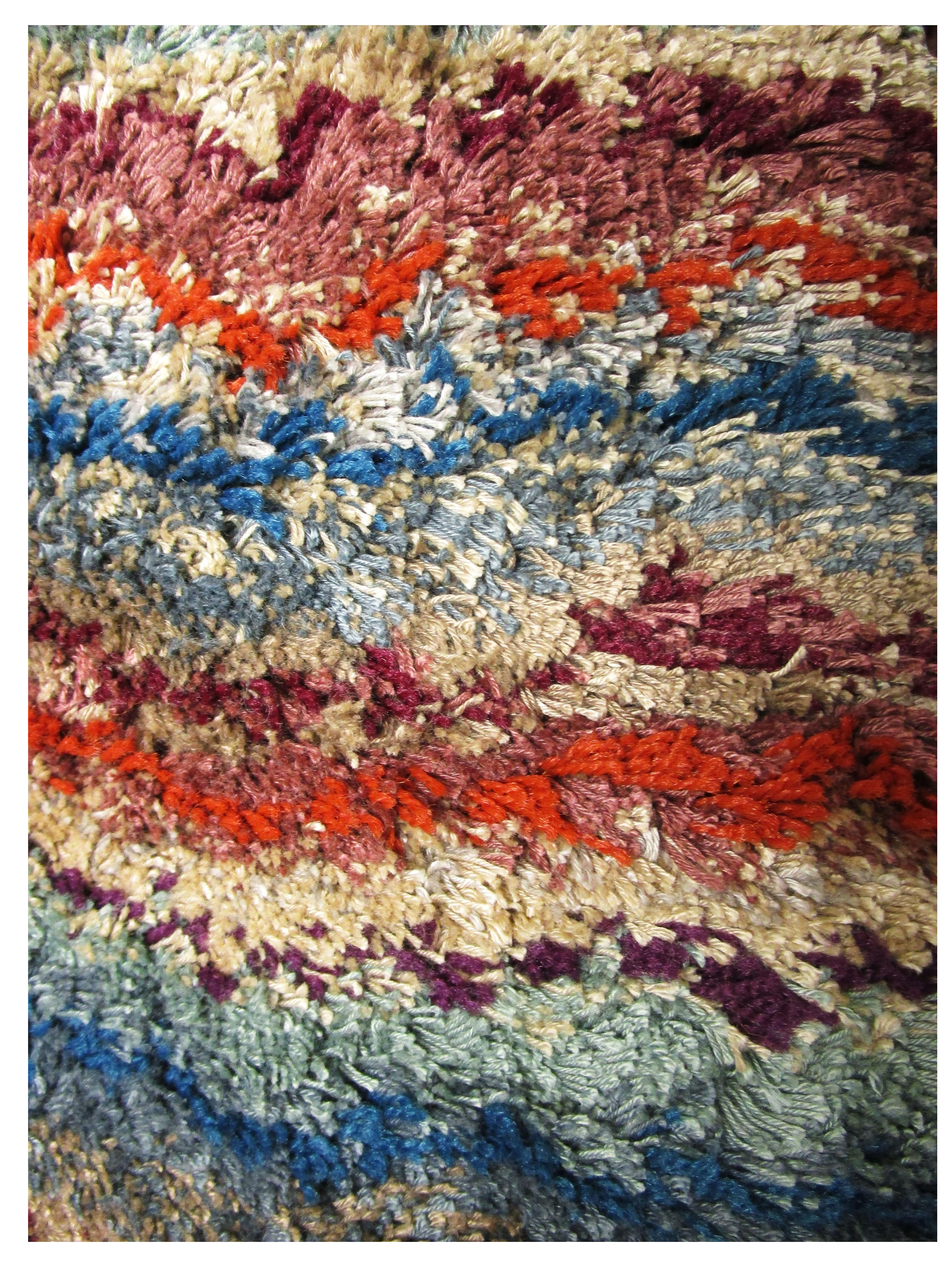Cosmopolitian Spice Stripes Rug