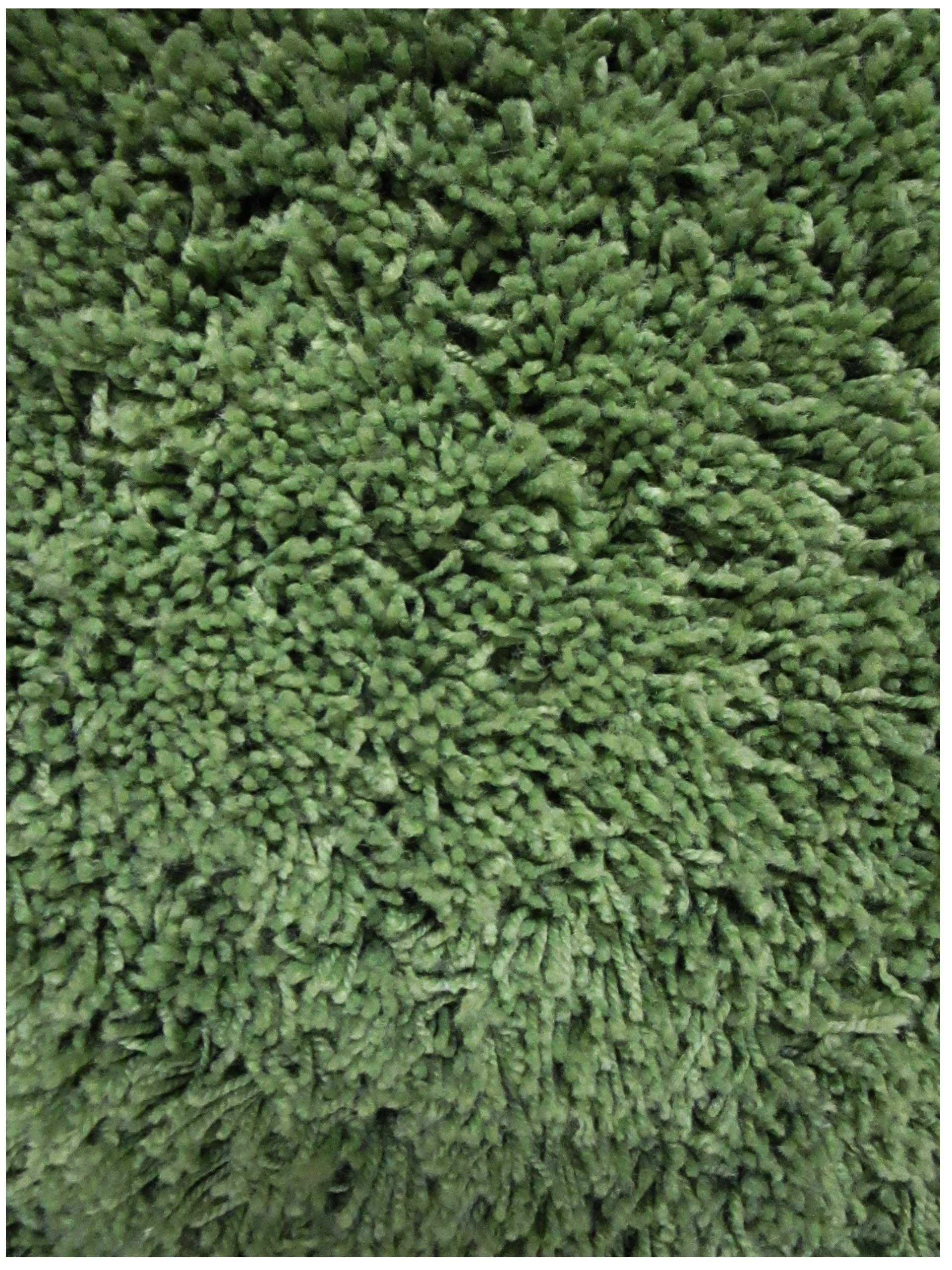 Asparagus Shag Rug