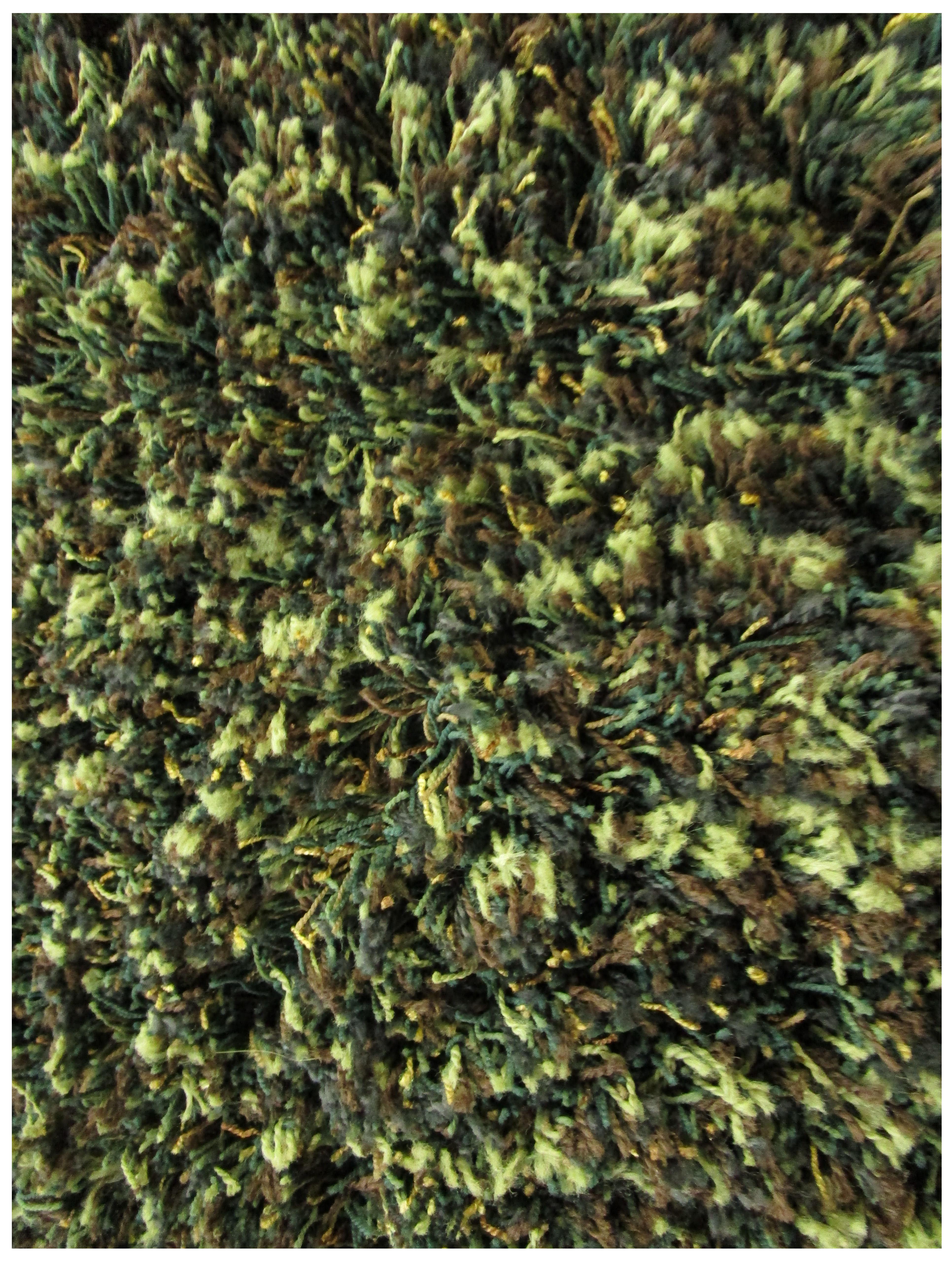 Camouflage Shag Rug