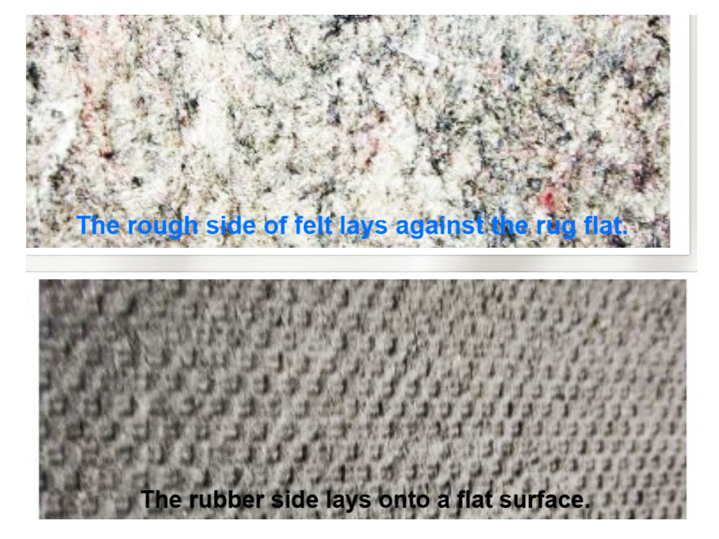 FELTED RUG PAD (SUPERIOR QUALITY)